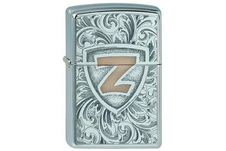 Широкая зажигалка Zippo Zshield 327 - фото 5840