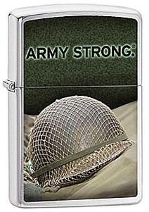 Широкая зажигалка Zippo US Army  28514 - фото 5944