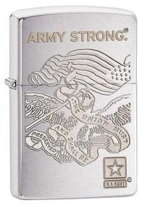 Широкая зажигалка Zippo US Army  28515 - фото 5946
