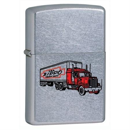 Широкая зажигалка Zippo Truck 28565 - фото 5956