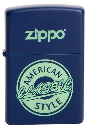 Широкая зажигалка Zippo American classic 28765 - фото 6020