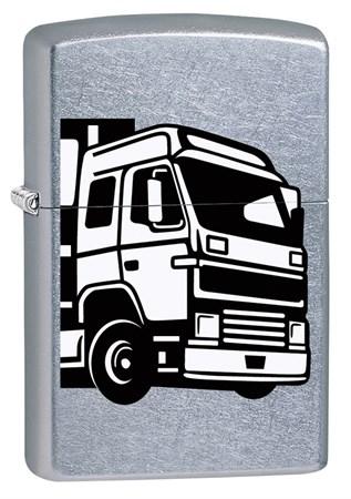Широкая зажигалка Zippo European Truck 29226 - фото 6050
