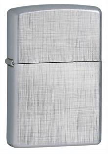 Широкая зажигалка Zippo Linen Weave 28181 - фото 6092