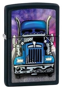 Широкая зажигалка Zippo Truck Head On 28312 - фото 6113