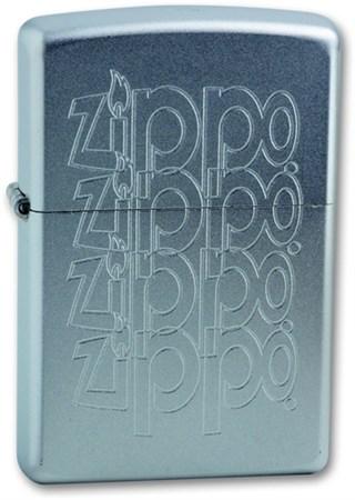 Широкая зажигалка Zippo LOGO 205 - фото 6114