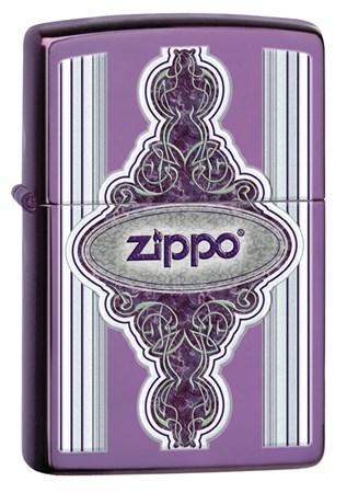 Широкая зажигалка Zippo Classic 28866 - фото 6168