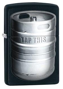 Широкая зажигалка Zippo Classic 28665 - фото 6176