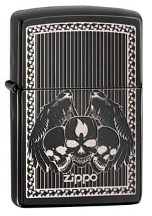 Широкая зажигалка Zippo Classic 28678 - фото 6256