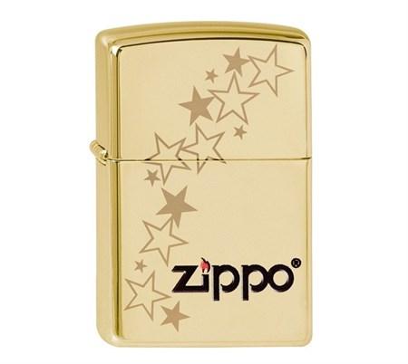 Широкая зажигалка Zippo Stars 254B - фото 6265