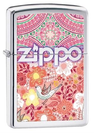 Широкая зажигалка Zippo Classic 28851 - фото 6309