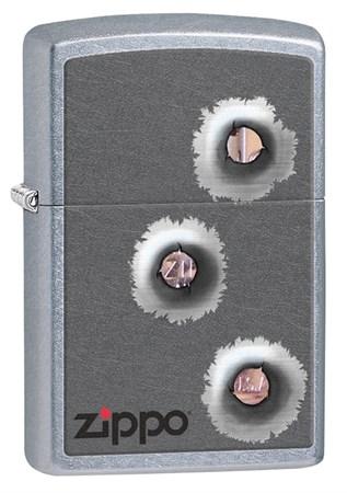 Широкая зажигалка Zippo Classic 28870 - фото 6343