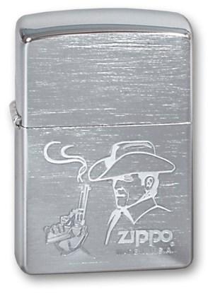 Широкая зажигалка Zippo COWBOY 200 - фото 6359