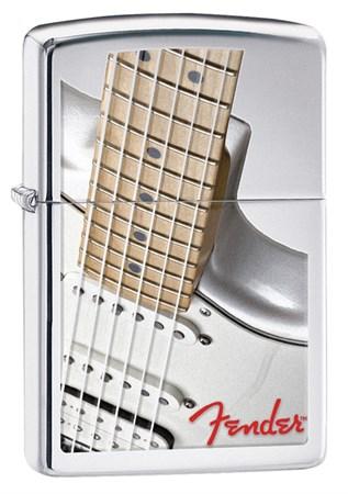 Широкая зажигалка Zippo Fender 28845 - фото 6382