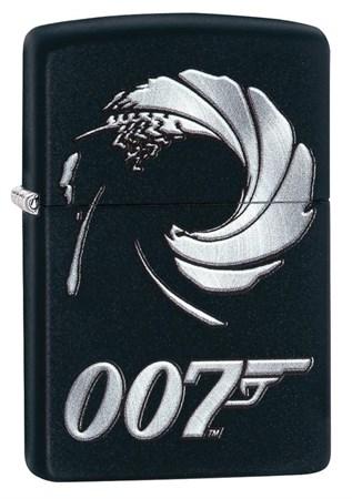 Широкая зажигалка Zippo James Bond 29566 - фото 6407