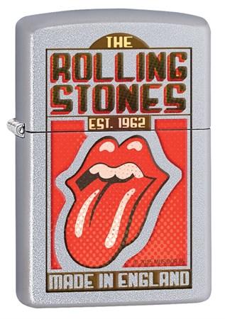 Широкая зажигалка Zippo Rolling Stones 29127 - фото 6467
