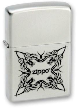 Широкая зажигалка Zippo Tattoo Design 205 - фото 6491