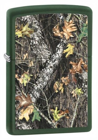 Широкая зажигалка Zippo Mossy Oak 28332 - фото 6686