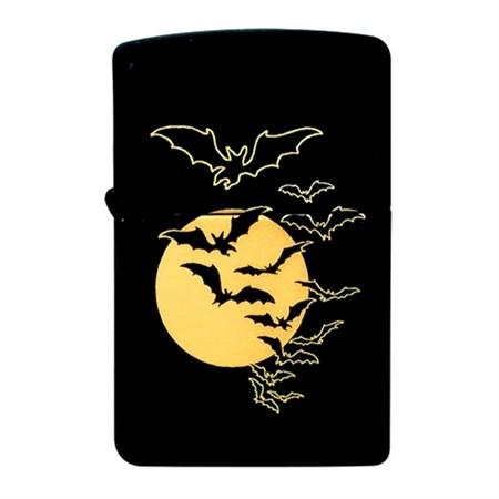 Широкая зажигалка Zippo Scary Bats 218 - фото 6733