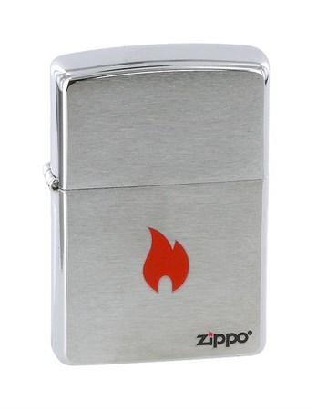 Широкая зажигалка Zippo Flame 200 - фото 6751