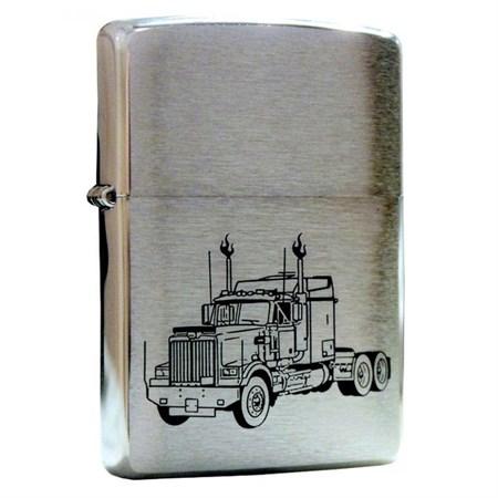 Широкая зажигалка Zippo Truck 24921 - фото 6780