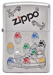 Зажигалка Zippo Sneaker 205 - фото 6846