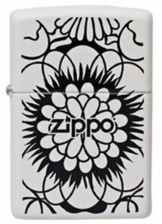 Зажигалка Zippo Flower 214 - фото 6863
