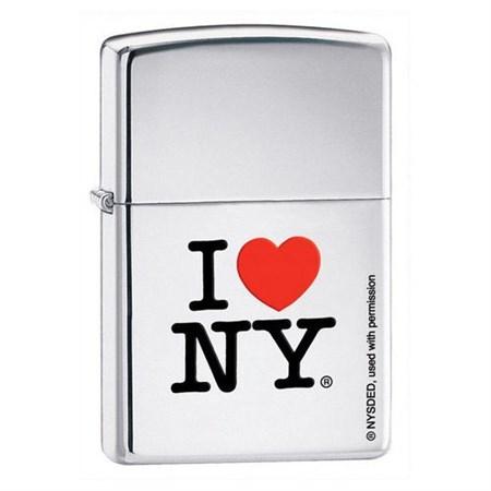 Зажигалка Zippo I love NY 214 - фото 6865
