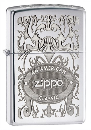 Зажигалка широкая Zippo an American Classic 250 - фото 6877