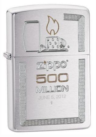 Зажигалка Zippo Replica 500 million 28412 - фото 6911