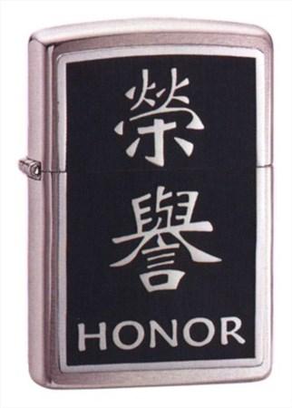 Зажигалка широкая Zippo Zchinese Symbol Honor 20332 - фото 7194