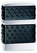 Широкая зажигалка Zippo Black Zip Guard 200 ZP