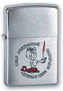 Широкая зажигалка Zippo Мальчик 200 Мальчик