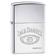 Широкая зажигалка Zippo Jack Daniel's 250JD 321