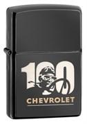 Широкая зажигалка Zippo Chevy 28195