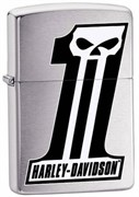 Широкая зажигалка Zippo Harley Davidson 28228