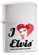 Широкая зажигалка Zippo Elvis Presley 28258