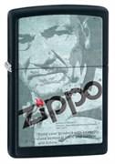 Широкая зажигалка Zippo Classic 28300