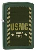 Широкая зажигалка Zippo Marines 28337