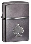 Широкая зажигалка Zippo Ace of Spades 28379