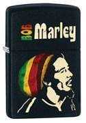 Широкая зажигалка Zippo Bob Marley 28426