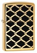 Широкая зажигалка Zippo Fence Design 28675