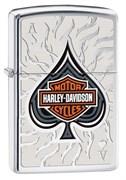 Широкая зажигалка Zippo Harley-Davidson Ace Shiel 28688