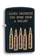 Широкая зажигалка Zippo Bullet 28762