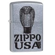 Широкая зажигалка Zippo Cobra 28776