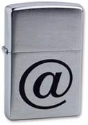 Широкая зажигалка Zippo 200 Internet 200 Internet