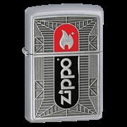 Широкая зажигалка Zippo Flame Emblem 24830