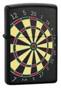 Широкая зажигалка Zippo Dart Board 24332