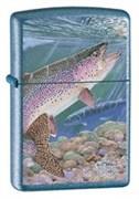 Широкая зажигалка Zippo Guy Harvey Rainbow Trout 24451