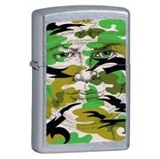Широкая зажигалка Zippo Hidden Face 21005