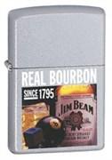 Широкая зажигалка Zippo JB Real Boubon 24267